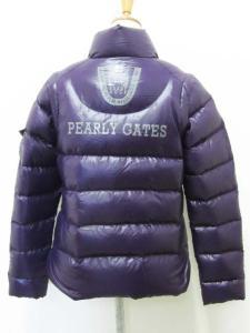 パーリーゲイツ PEARLY GATES ジャケット ベスト 2Way ダウン ナイロン バックプリント 0 紫 パープル レディースの買取実績