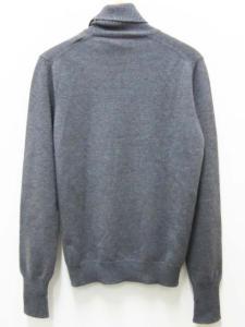 未使用品 バランタイン BALLANTYNE セーター カシミヤ ニット チェック 50 グレー 青 水色 紺 ネイビー タートル メンズの買取実績