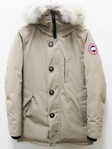 カナダグース CANADA GOOSE ダウン ジャケット ジャスパー 68F8490 ベージュ S/P コヨーテ ファー フード ジップ メンズの買取実績