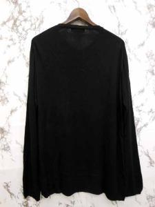 ヨウジヤマモト YOHJI YAMAMOTO ニット セーター Vネック 薄手 黒 3 ※Y-16092702 メンズの買取実績