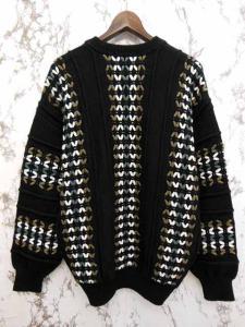 バレンシアガ BALENCIAGA セーター ニット ウール混 クルーネック 黒 LL S-16101315 レディースの買取実績