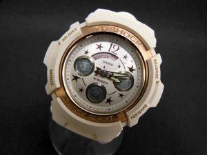 カシオジーショック CASIO G-SHOCK PRESENTS LOVER'S COLLECTION 2009 クリスマス限定 セット AW590L Baby-G BGA104L 腕時計 ※Y-16120808の買取実績