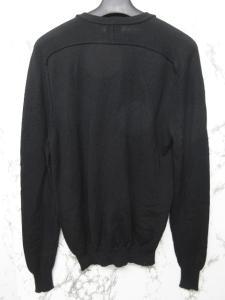 アレキサンダーマックイーン ALEXANDER MCQUEEN カーディガン ニット ウール ロゴ 刺繍 長袖 黒 XSの買取実績
