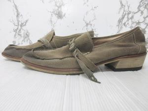5351プールオム 5351 POUR LES HOMMES レザーシューズ ローファー 革靴 スリッポン スエード ベージュ 40 25の買取実績