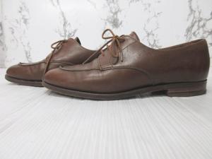 ロイド フットウェア Lloyd Footwear レザーシューズ 革靴 レースアップシューズ Uチップ キャメル 5 1/2の買取実績