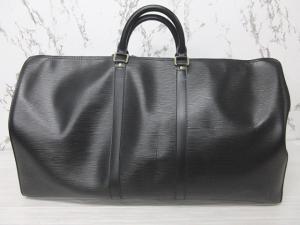 ルイヴィトン LOUIS VUITTON キーポル 55 エピ ボストンバッグ 旅行鞄 レザー ノワール 黒の買取実績