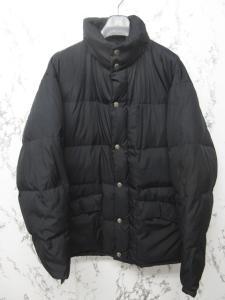 アルマーニ ジーンズ ARMANI JEANS ダウンジャケット ダウンコート フード内蔵 黒 ブラック 50 1104 メンズの買取実績