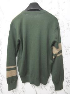 ポールスミスコレクション PAUL SMITH COLLECTION セーター ニット カットソー Vネック 長袖 緑 ベージュ L 1102 メンズの買取実績