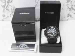カシオジーショック CASIO G-SHOCK マッドマスター MUDMASTER GG-1000-1AJF アナデジ 腕時計 黒 ブラック 1113 メンズの買取実績
