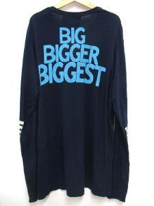 フリーシティ FREE CITY Ron Herman BIG FAST STRONG Tシャツ カットソー ロゴ 長袖 L ネイビー 紺 ☆AA★ ☆★R-0383の買取実績