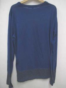 ニールバレット Neil Barrett Tシャツ カットソー フェイクレイヤード ボーダー 長袖 青系 S 0414☆☆HO-867の買取実績