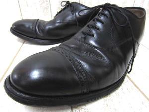 オールデン ALDEN 901 ストレートチップ シューズ 革靴 レザー 8 1/2 26.5 ブラック 黒 0513☆☆OK-7663B