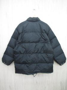 ニューバランス NEW BALANCE ダウンジャケット ブルゾン アウター フルジップ ロゴ 刺繍 LB 黒 ブラック メンズ/F172 メンズの買取実績
