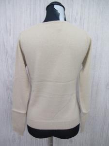ヨンドシー 4℃ カシミア100% ニット カーディガン羽織り ベージュレディース M/D72 レディースの買取実績