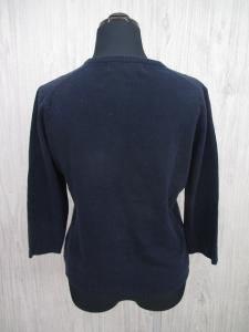 ケイタマルヤマ KEITA MARUYAMA 花刺繍 カーディガン ニット セーター 1 紺 マルチ レディース/M119 レディースの買取実績