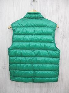 モンクレール MONCLER ダウン ベスト ジャケット ブルゾン ジップアップ ロゴ ワッペン 1 緑 グリーン メンズ メンズの買取実績