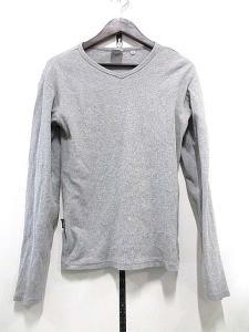 アヴィレックス AVIREX カットソー Tシャツ 長袖 無地 シンプル 灰 グレーS 秋冬 メンズの買取実績