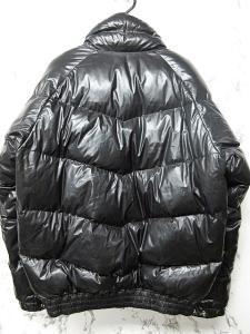 アベイシングエイプ A BATHING APE ダウンジャケット ブルゾン コーティング 黒 M IBSの買取実績