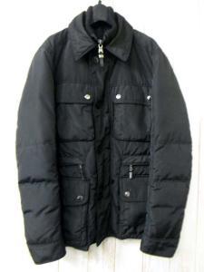 モンクレール MONCLER ダウン ジャケット KANSAS カンサス M65 黒 ブラック 1 国内正規 美品 秋冬 メンズ