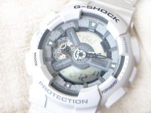 ジーショック G-SHOCK 腕時計 GA-110C-7AJF アナデジ ハイパーカラーズ ホワイト 白
