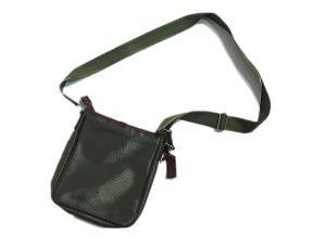 ポールスチュアート PAUL STUART 美品 ショルダーバッグ ナイロン キャンバス レザー 緑 グリーン系の買取実績