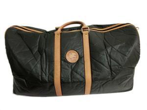 ハンティングワールド HUNTING WORLD ボストン バッグ ハンドバッグ 旅行鞄 バチュー 伊製 イタリア製 カーキ系
