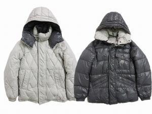 モンクレール MONCLER タウンジャケット フーデッド リバーシブル ブルゾン 00 灰 グレー系 オフホワイト系 秋冬