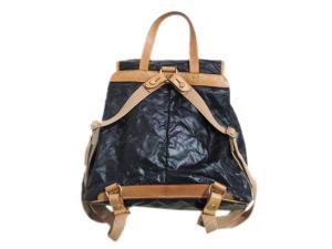 ハンティングワールド HUNTING WORLD リュックサック バッグ 鞄 バチュー 伊製 イタリア製 黒 ブラック系 ユニセックスの買取実績