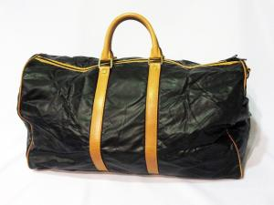 ハンティングワールド HUNTING WORLD ボストンバッグ ハンドバッグ 旅行鞄バチュー 伊製 イタリア製 黒 ブラック系 メンズ レディースの買取実績
