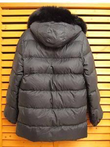 モンクレール MONCLER ファー付きVALENTINEダウン ジャケット コート0 ブラック黒 ブランド古着ベクトル フクウロ151111 0150Bの買取実績
