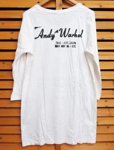 アンディウォーホル バイ ヒステリックグラマー ANDY WARHOL by HYSTERIC GLAMOUR マリア プリント 長袖 Tシャツ ワンピース ブランド古着 ベクトル 160228 0010Bの買取実績