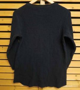 ワコマリア WACKO MARIA 16AW クルーネック サーマル 長袖Tシャツ カットソー M ブランド古着ベクトル フクウロ 161106 0021G メンズの買取実績