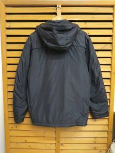 未使用品 ナイキ NIKE 中わたフード付きジャケット ウインドブレーカーM黒ブラック ブランド古着ベクトル フクウロ●161123 0010G メンズの買取実績