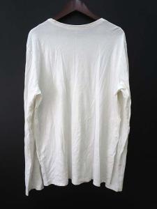 05AW RAF SIMONS ラフシモンズ プリント 長袖Tシャツ カットソー 48 ホワイトの買取実績