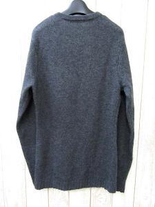 美品 5351 POUR LES HOMMES 5351プールオム ウール Vネック ニット セーター 2 グレー メンズの買取実績