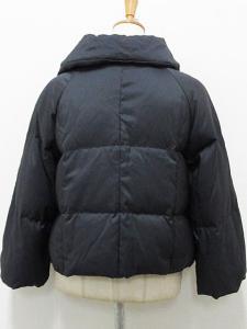 ダウン ジャケット ショート スナップ 38 黒 ブラック 秋冬 kyの買取実績