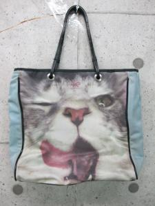 アニヤハインドマーチ ANYA HINDMARCH 猫プリント バッグ トート ミニの買取実績