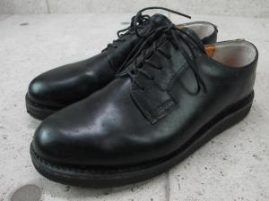 アヴィレックス AVIREX ビズネスシューズ プレーン ブラック 黒 紐靴 27センチ