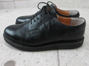 アヴィレックス AVIREX ビズネスシューズ プレーン ブラック 黒 紐靴 27センチの買取実績