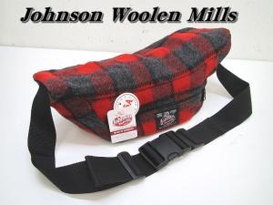 ジョンソンウーレンミルズ Johnson Woolen Mills ショルダーバッグの買取実績