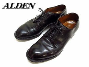 【ALDEN/オールデン】 プレーントゥ コードバン 53511 ビジネスシューズ 靴 黒10▲