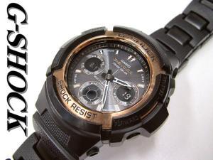ジーショック G-SHOCK AWG-100 SOLAR コンビネーション電波ソーラー 腕時計 メンズ 黒 ‡