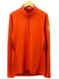 【ARC'TERYX/アークテリクス】 11254 ハーフジップ カットソー ロンT Tシャツ 長袖 オレンジ S