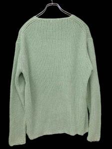 【allegri/アレグリ】 麻 リネン混 長袖 ニット セーター 緑 グリーン 48/Fの買取実績