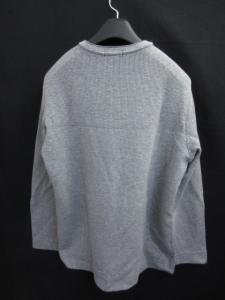 アレグリ allegri 長袖 Tシャツ カットソー Vネック 厚手 千鳥 グレー 50の買取実績