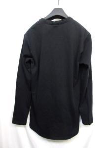 ミスタージェントルマン MR.GENTLEMAN Tシャツ 長袖 無地 ポケット ブラック 黒 Lの買取実績