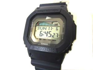 ビームス BEAMS Pilgrim Surf Supply ピルグリム G-SHOCK G-LIDE 腕時計 GLX-5600 ネイビー ユニセックス