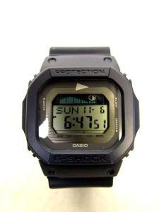 ビームス BEAMS Pilgrim Surf Supply ピルグリム G-SHOCK G-LIDE 腕時計 GLX-5600 ネイビー ユニセックスの買取実績