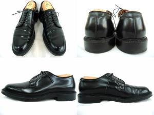 【ALDEN/オールデン】 レザーシューズ/プレーントゥ/コードバン/9901/PLAIN TOE BLUCHER/革靴/黒/ブラック/箱付き/シューツリー、シューキーパー付き/の買取実績