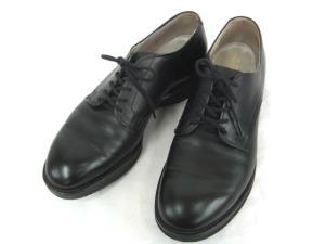 【ALDEN/オールデン】 プレーントゥ シューズ レザー 黒 8.5 シューキーパー 靴 くつ